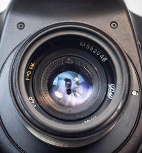 Индустар-26М адаптирован на М42 + Canon EF-s