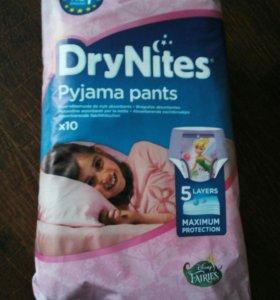 Подгузники/памперсы трусики ночные от 3л drynites