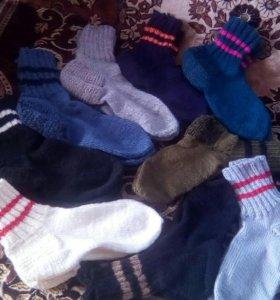 Носки теплые, мужские и женские