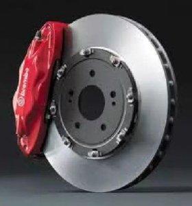 Тормозные диски и колодки на Тойота новые доставка