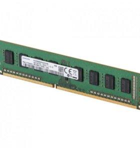 Оперативная память Samsung DDR3,4 ГБ, 1600 МГц