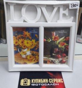 "Рамка ""Любовь"""