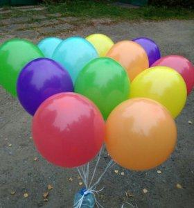 Красивые и яркие шары с гелием. Доставка