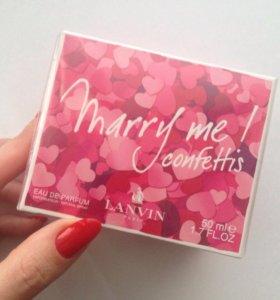 Парфюм lanvin marry me confettis