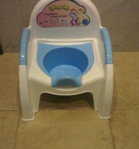 Горшок детский со съемной чашей
