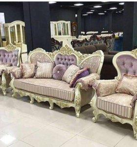 Диван и 2 кресла Наполеон