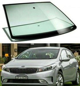 Лобовое стекло на Kia Cerato 2012-