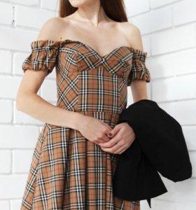 Новое корсетное платье с карманами
