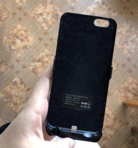 Чехол-аккумулятор на айфон 6
