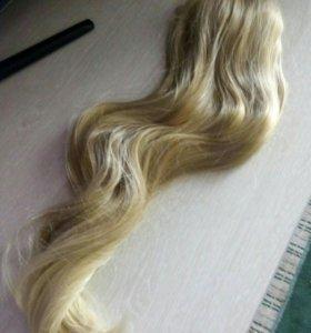 Волосы(хвост)искусственные