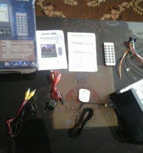 Магнитола с выдвижным экраном