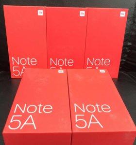Xiaomi Note 5A 16/32 gb новые