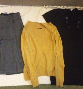 Пакет 8 вещей,  одежда осень - зима 44-46