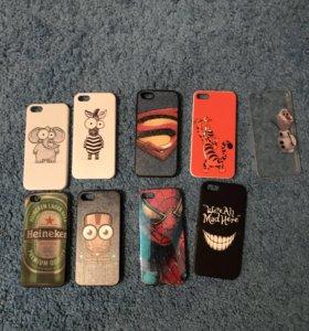 Чехлы б/у на iPhone 5 и 5s