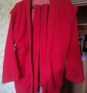 """Куртка для самбо """"Атака"""" 46-48 размер"""