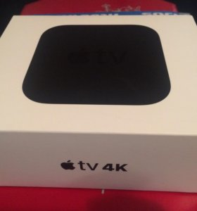 Коробка Apple TV 4K HDR 32gb