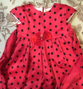 Праздничное платье для девочки, размер 98