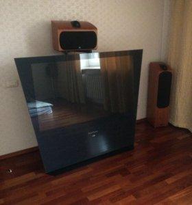 Домашний кинотеатр с телевизором(обмен на Авто)