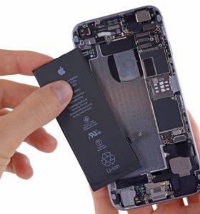 Замена батареи на iPhone 4s/5/5s/6/6s/6+/7/7+