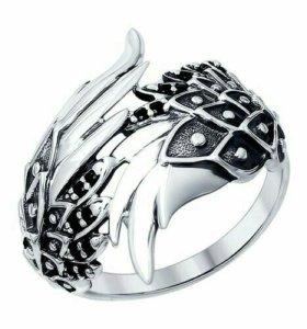 Серебряное кольцо 95010096