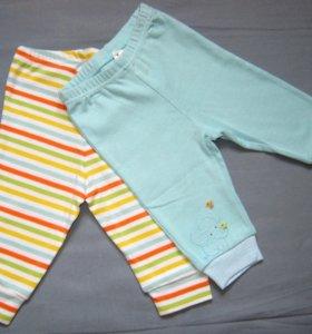 Комплект штанишек на малыша - набор из двух штук.