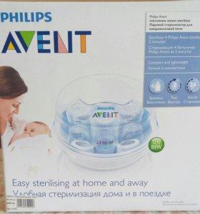 Паровой стерилизатор для микроволновой печи Avent