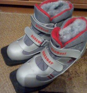 Лыжные ботинки р.36-37