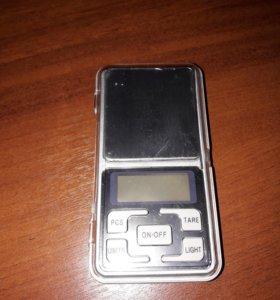 Весы ювелирные электронные 0.01-200г