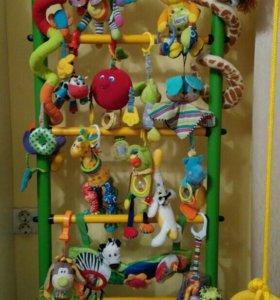 Развивающие подвесные игрушки