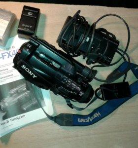 Видеокамера CCD-FX400E. V8.