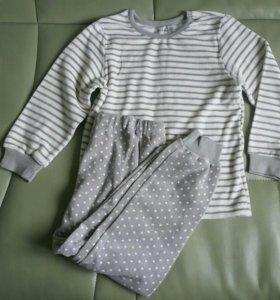 Пижама велюровая новая