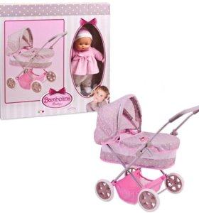 Игровой набор Bambolina Boutique -коляска с куклой