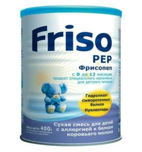 Смесь Friso Фрисопеп с нуклеотидами при аллергии