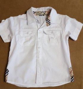 Рубашка белая 5 лет