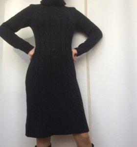 Платье полушерстяное. Размер 36-38