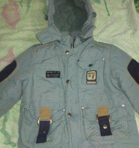 Зимняя куртка на мальчика BILEMI