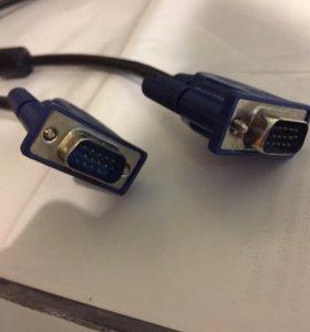 Кабель VGA-VGA для монитора