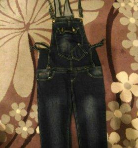 Комбенизон - джинсы для беременных