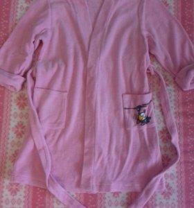 Халат пижама и тапочки