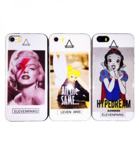Чехол Eleven Paris iPhone 5/5s/SE (силикон)