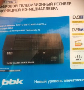 BBK приставка тв DVB-T2