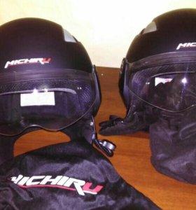 Мото шлем 2 штук