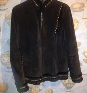 Куртка нубук
