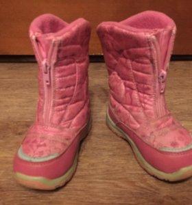 Зимняя обувь. Сапоги зимние. Детские