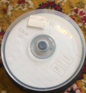 CD диски (10 шт.)