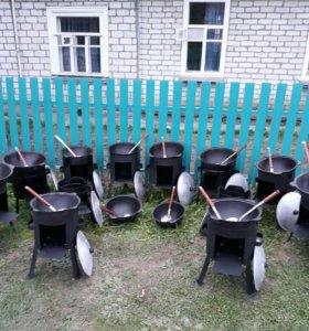 Узбекский казаны.