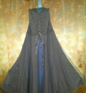 Голубое Платье AGAT
