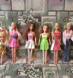 Куклы для девочек барби пупсы