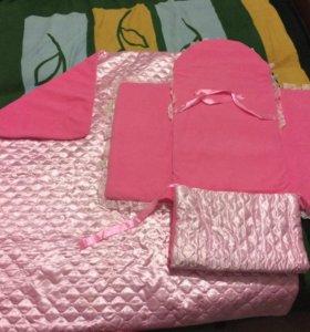 Конверт + одеяло на выписку
