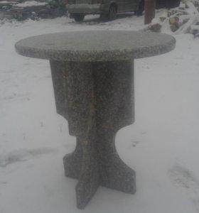 Журнальный столик из натурального камня